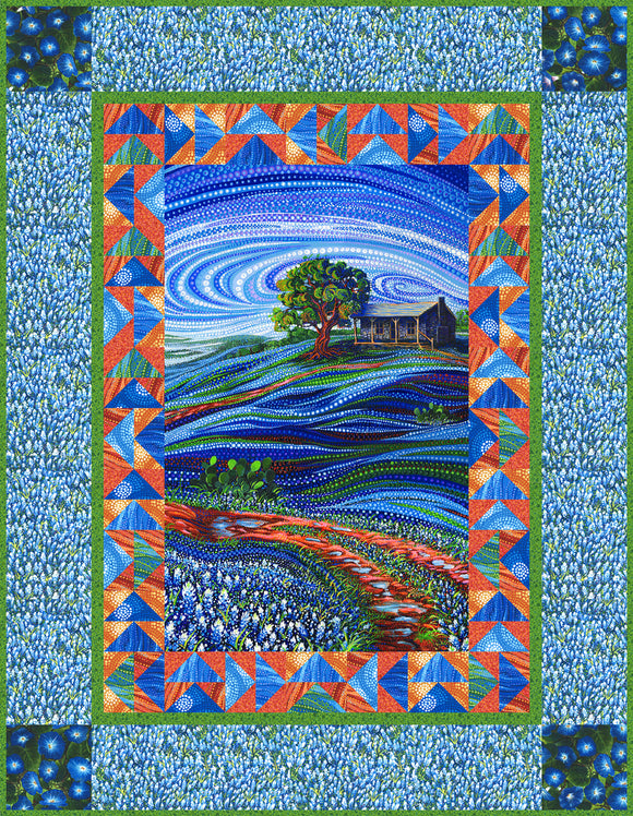 Free Pattern - Bluebonnet Path by Moda Fabrics