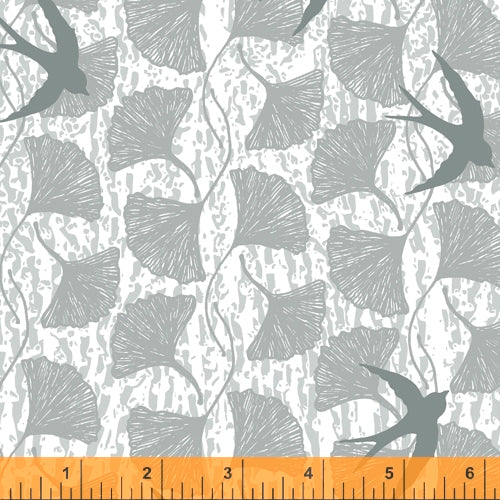 Norma Rose Songbirds Grey