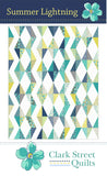 Summer Lightning Paper Quilt Pattern by Linzee Kull McCray