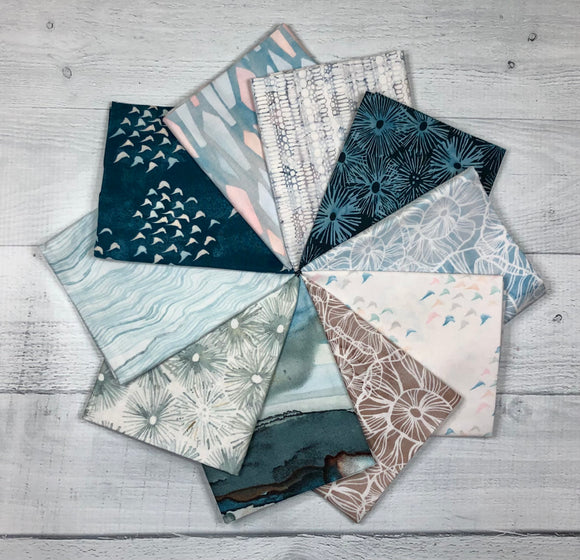 Time & Tide Fat Quarter Bundle by Shell Rummel