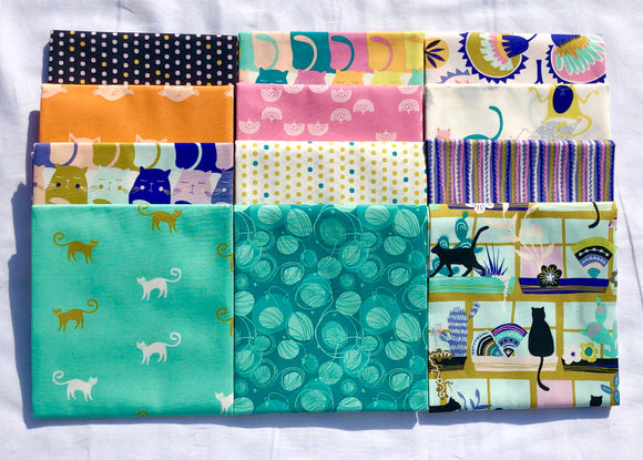 Oh Meow! Half Yard Bundle by Jessica Swift