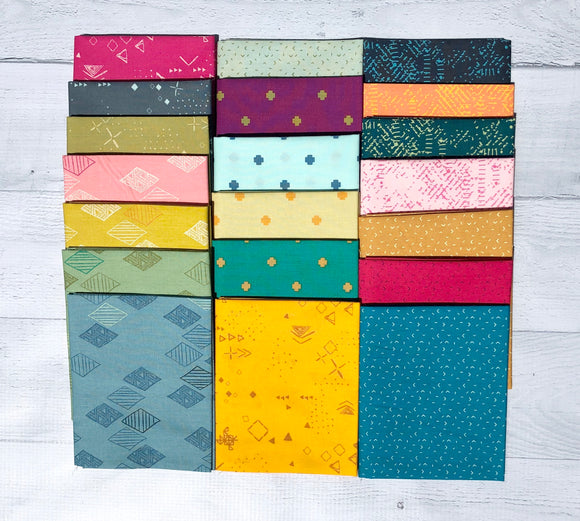 Matchmade Half Yard Bundle by Pat Bravo