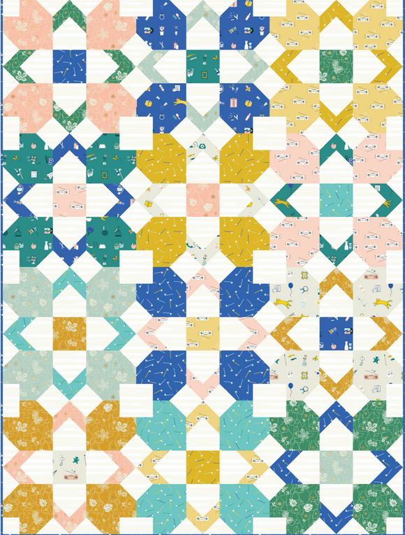 Inkling Quilt Kit Featuring Whatnot by Rashida Coleman-Hale