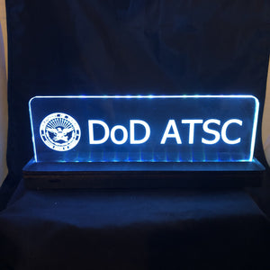 CCHobby Designs Lighted Signs for the FAA Challenger Space Operations Room