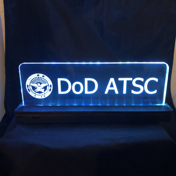 CCHobby Designs Lighted Signs for the FAA Challenger Space Operations Room | CCHobby