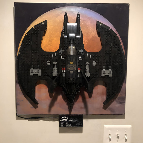 Lego Batwing Lighted Wall Mount | CCHobby