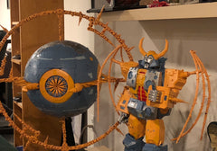 Unicron Planet and Robot mode together!