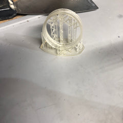 Clear resin ring for Unicron LED strip