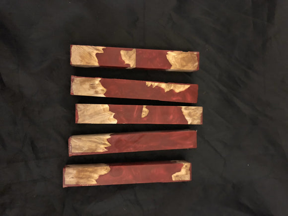 Burl Wood and Resin Pen Blanks - CCHobby