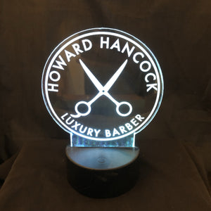"Custom 4.5"" Battery Operated Lighted Signs - CCHobby"
