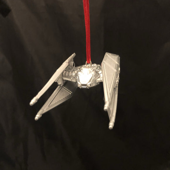 Kylo Ren's Tie Silencer Star Wars Christmas Ornament - CCHobby