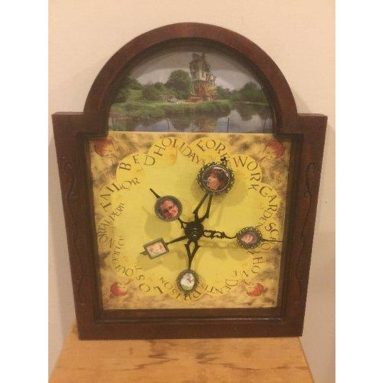 Molly Weasley's Clock Customized With Your Family Photos From Harry Potter -Lite - CCHobby
