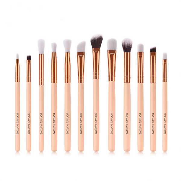 12-Piece Vegan Eye Makeup Brush Set