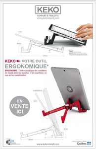 KEKO support à tablette
