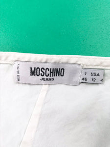"Chemisier ""Moschino"" Dos Nu Vintage"