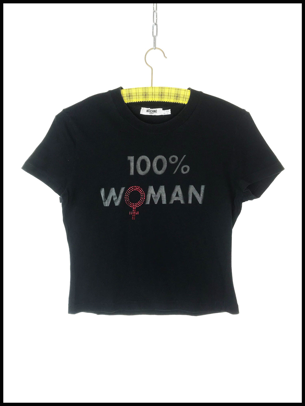 Crop Top Moschino Vintage 100% Woman