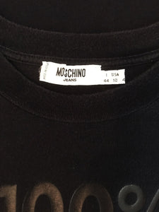 "Crop Top ""Moschino"" Vintage 100% Woman"