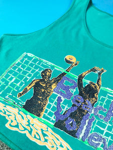 Debardeur Beach Volley Fluo Vintage