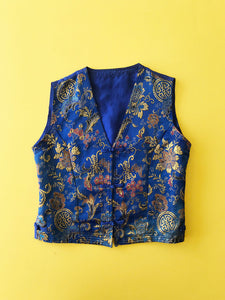Gilet Sans Manches Chinois Vintage
