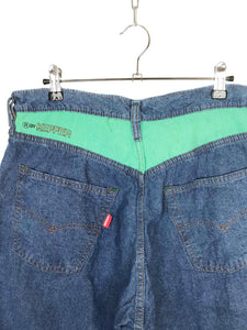 "Pantalon Jean ""Kepper"" Vintage 1980 Ecusson Fishing"