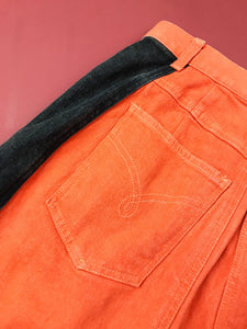 "Jupe Jean ""Moschino"" Orange Vintage"