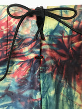 Charger l'image dans la galerie, Mini Short Cuir Vintage Tie and Dye Multicolore