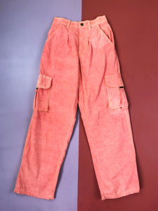 Pantalon de Travail Vintage Orange