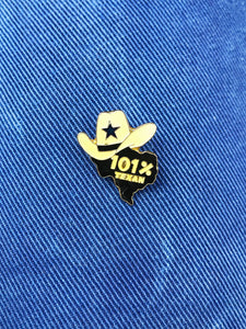 "Pin's Country ""101% Texas"" Vintage"