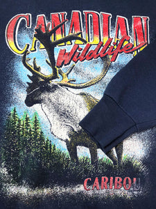 "Sweat Caribou ""Fruit of the Loom"" Vintage"