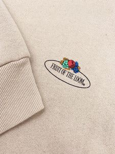 "Sweat ""Fruit of the Loom"" Beige Uni"