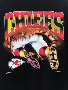 Sweat Kansas City Chiefs 1994 Vintage NFL Noir
