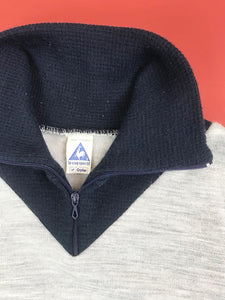 "Sweat ""Le Coq Sportif"" Rayures Vintage"