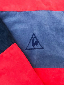 "Sweat ""Le Coq Sportif"" Vintage Velours Made in France"