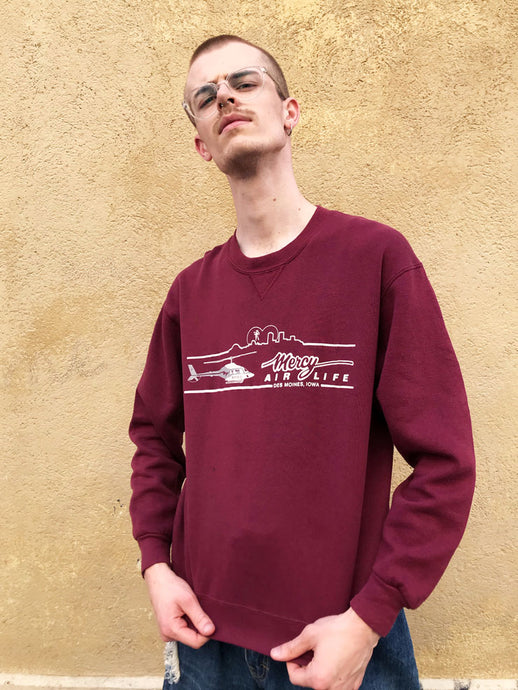 Sweat Iowa Bordeaux Vintage