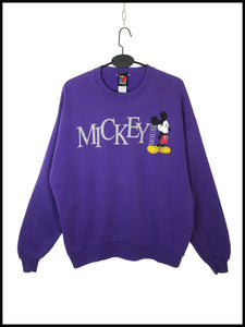 "Sweat ""Mickey Mouse"" Vintage Violet"