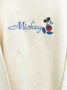 "Sweat ""Mickey Mouse"" Disney Vintage Jaune"