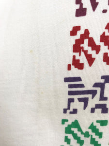 "Sweat ""Missoni Sport"" Vintage Impression Multicolore"