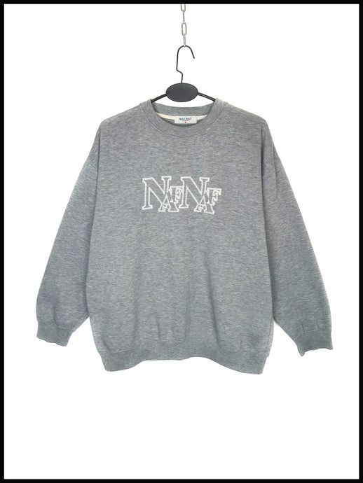 Sweat Naf Naf League Vintage Gris Chiné