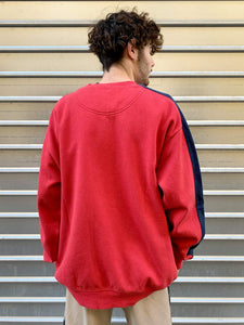 "Sweat ""Nike"" Rouge Logo Virgule"