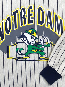Sweat Notre Dame à Rayures Fighting Irish