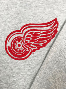 "Sweat ""Red Wings Detroit"" Vintage Gris Chine"