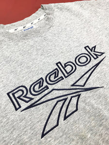 "Sweat ""Reebok"" Gris Chine Vintage"