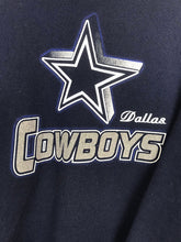"Charger l'image dans la galerie, Sweat ""Cowboys Dallas"" Vintage Marine"