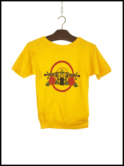 Sweat Vintage Guns N' Roses Manches Courtes