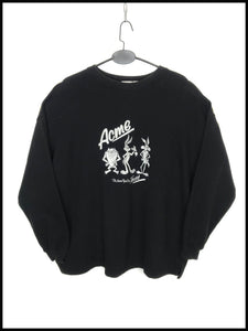 Sweat Vintage Acme Looney Tunes Noir