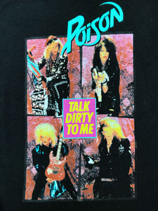 T Shirt Glam Metal Poison