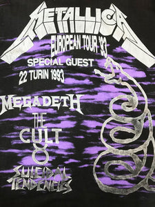 "T Shirt Rock Vintage ""Metallica"" 1993"