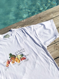 T Shirt Salade de Fruits Vintage