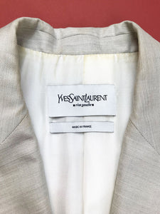"Veste Costume ""Yves Saint Laurent"" Vintage"