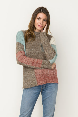 Blocks of Color Sweater